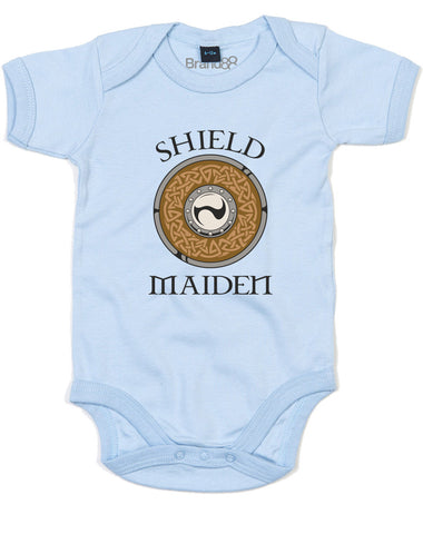 Shield Maiden | Baby Grow