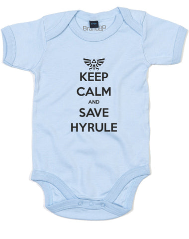Keep Calm and Save Hyrule | Baby Grow
