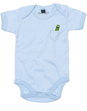 Pickle Pocket | Baby Grow