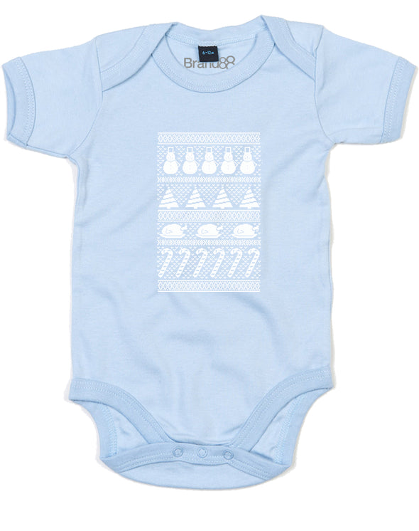 Christmassy Things | Baby Grow