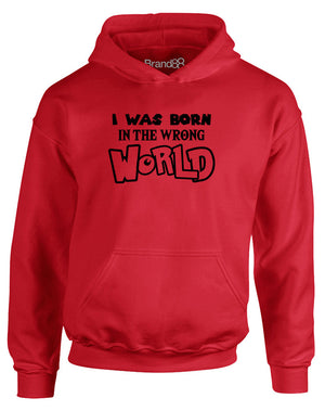 I Was Born in the Wrong World (Adventure) | Kids Hoodie
