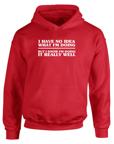 No Idea What I'm Doing | Kids Hoodie