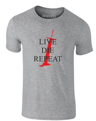 Live. Die. Repeat | Adults T-Shirt
