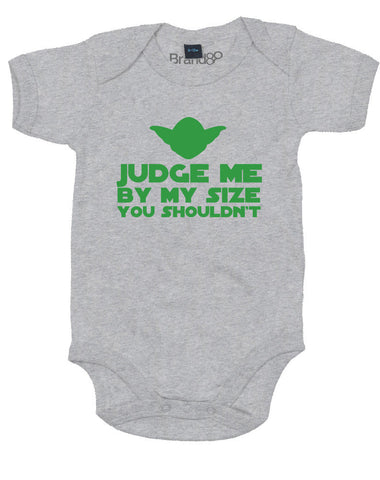 Judge Me By My Size You Shouldn't | Baby Grow