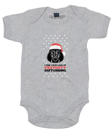 Your Lack of Festivity | Baby Grow