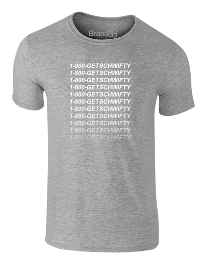 1-800-GET-SCHWIFTY | Adults T-Shirt