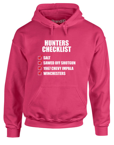 Hunters Checklist | Adults Hoodie