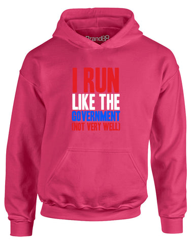 I Run Like the Government (Not Very Well) | Kids Hoodie
