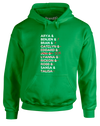 Crossing Them Off | Adults Hoodie