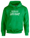 Book Worm Pick-up Line | Adults Hoodie