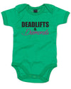 Deadlifts & Diamonds | Baby Grow
