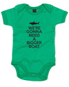 We're Gonna Need A Bigger Boat | Baby Grow