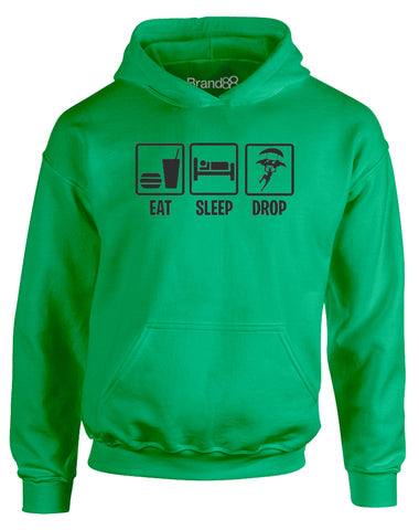 Eat Sleep Drop In | Kids Hoodie
