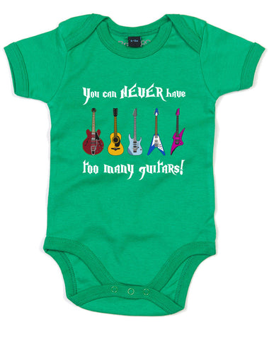 You Can Never Have Too Many Guitars! | Baby Grow