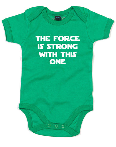 The Force Is Strong With This One | Baby Grow