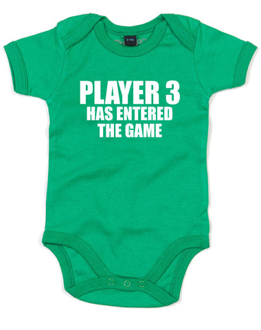 Player 3 Has Entered The Game | Baby Grow
