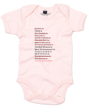 A Girl's List | Baby Grow