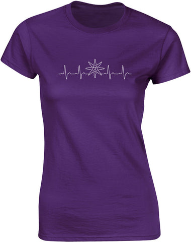 Warrior of Sunlight Heartbeat | Womens T-Shirt