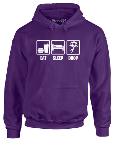 Eat Sleep Drop In | Adults Hoodie