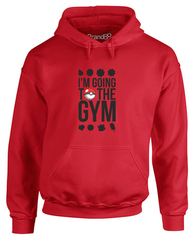 I'm Going To The Gym | Adults Hoodie