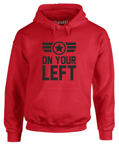 On Your Left | Adults Hoodie