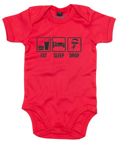 Eat Sleep Drop In | Baby Grow