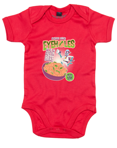 Eyehole Cereal | Baby Grow