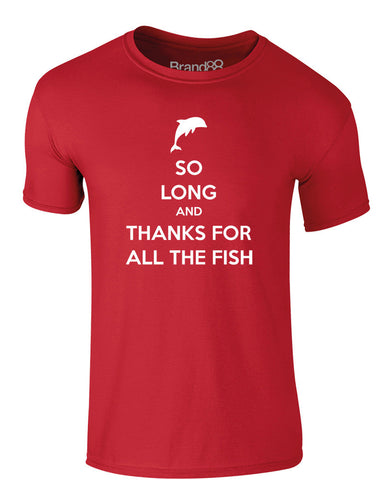 So Long And Thanks For All The Fish | Adults T-Shirt