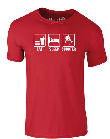 Eat Sleep Scooter | Adults T-Shirt