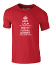 Keep Calm Or I Swear By My Pretty Floral Bonnet | Adults T-Shirt