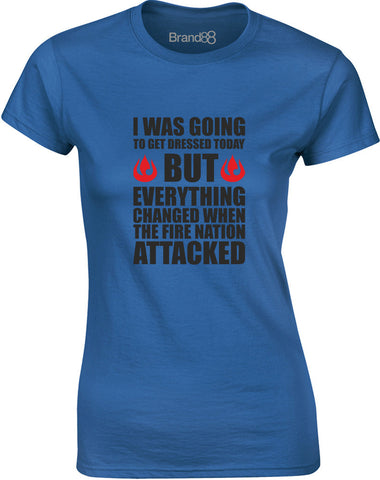The Fire Nation Attacked | Womens T-Shirt