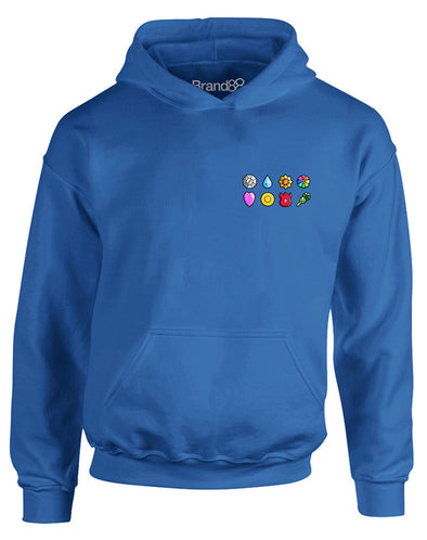 The First Eight Badges | Kids Hoodie