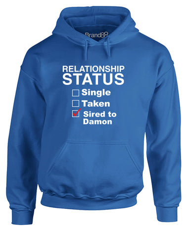 Sired To Damon | Adults Hoodie