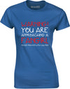 Approaching A Fan Girl | Womens T-Shirt