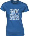 Hunting the Supernatural with Sam and Dean | Ladies T-Shirt