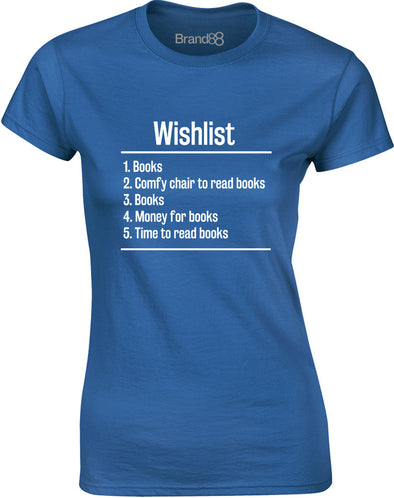 Books Wishlist | Womens T-Shirt