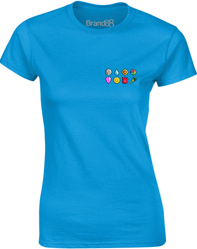 The First Eight Badges | Womens T-Shirt