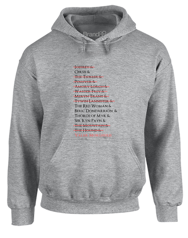 A Girl's List | Adults Hoodie