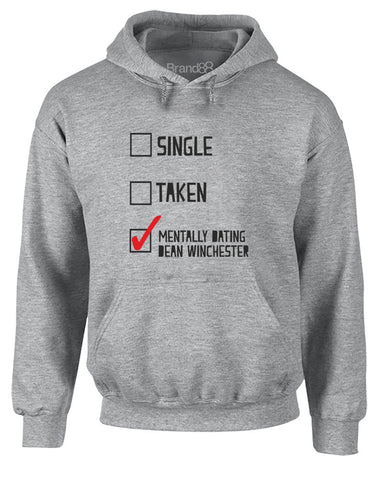 Mentally Dating Dean Winchester | Adults Hoodie