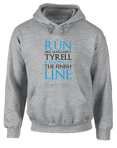 Run Like Margaery Tyrell is Waiting at... | Adults Hoodie