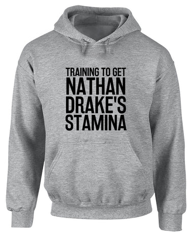 Training to Get Nathan Drake's Stamina | Adults Hoodie