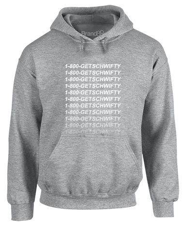 1-800-GET-SCHWIFTY | Adults Hoodie