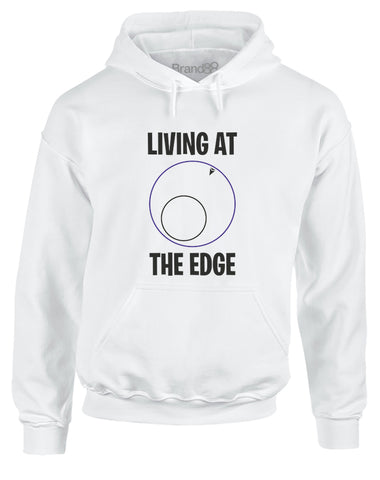 Living at the Edge | Adults Hoodie