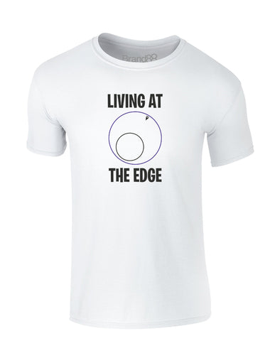 Living at the Edge | Kids T-Shirt