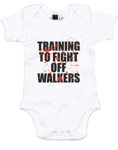 Training To Fight Off Walkers | Baby Grow