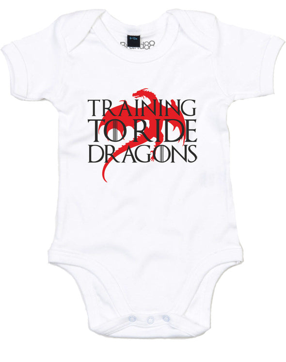 Training To Ride Dragons | Baby Grow