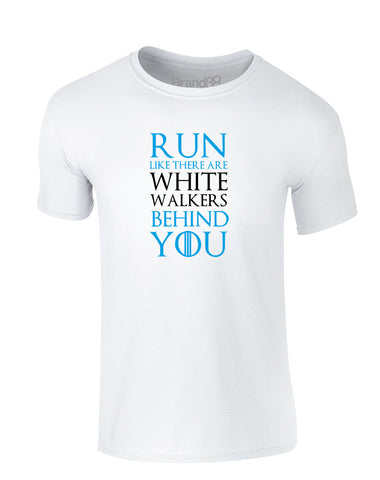 Run Like There Are White Walkers Behind You | Kids T-Shirt