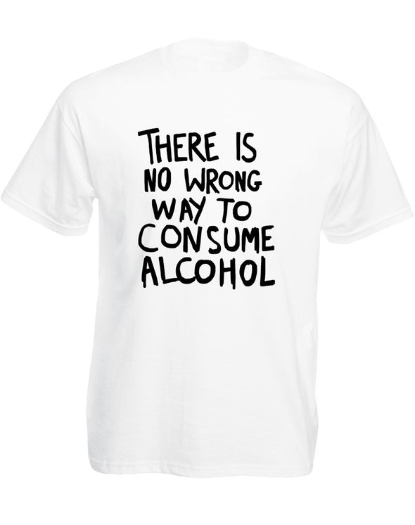 Consume Alcohol | Adults T-Shirt