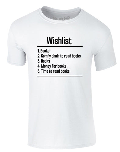 Books Wishlist | Adults T-Shirt