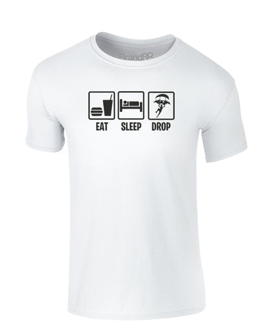 Eat Sleep Drop In | Kids T-Shirt
